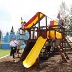 Detské ihrisko s trampolinou