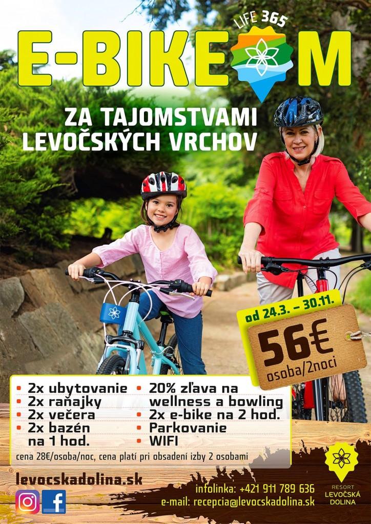 E-Bike-le-dolina