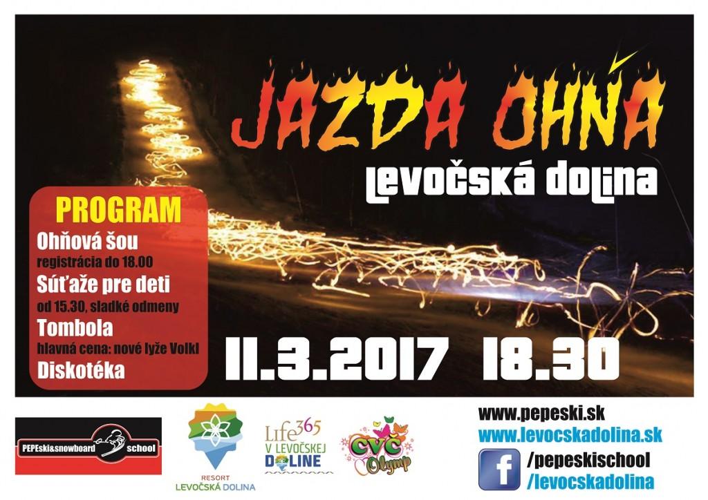 Jazda Ohna 10 Levoca 2017