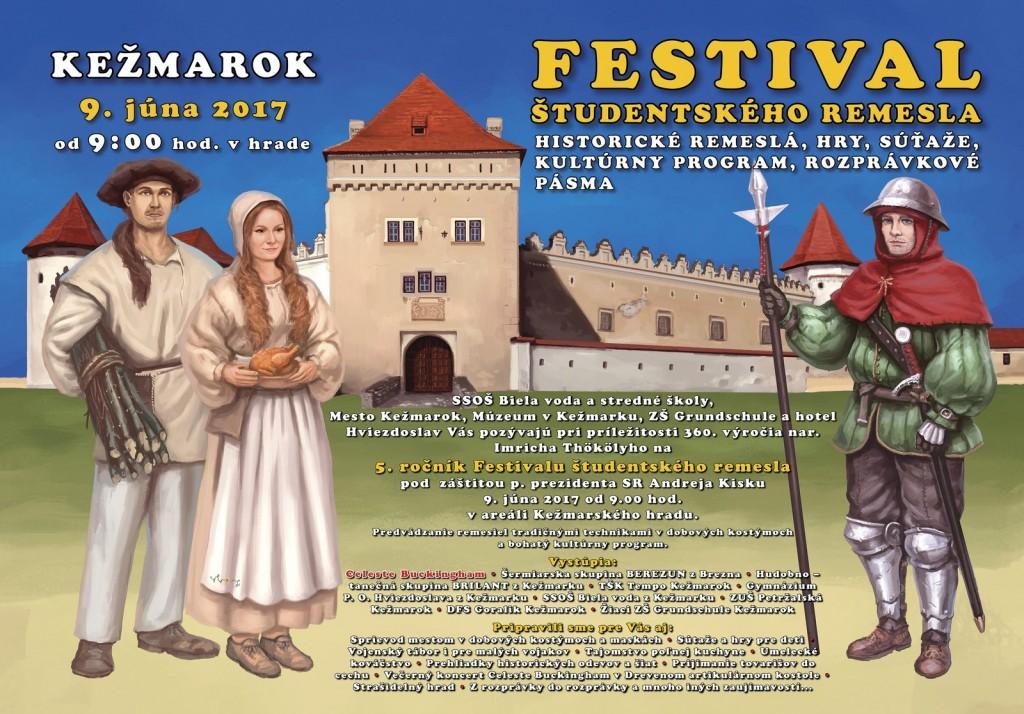 Akcia-20170609-FestivalStudentskehoRemesla-program
