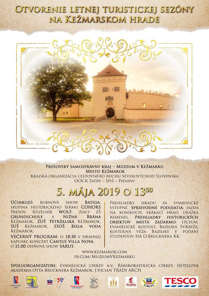 Otvorenie letnej turistickej sezony na Kezmarskom hrade